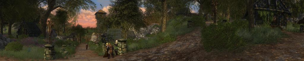 Lotro:  Aldburg crossroads