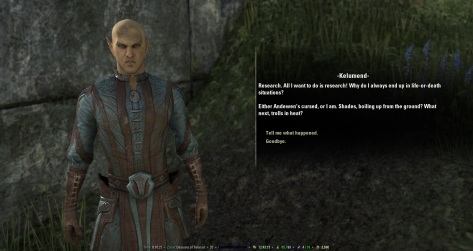 ESO quest text
