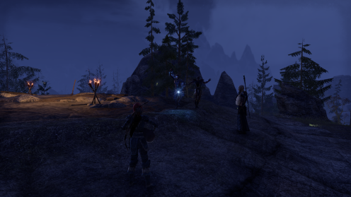 ESO: waiting for a spawn, I have an impromptu party with some strangers