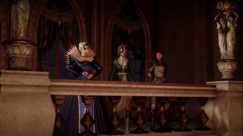 DA Inq: with the Empress and the elven rebellion ringleader Briala
