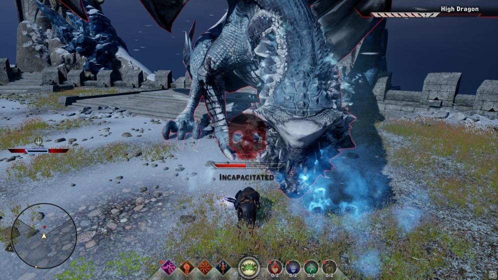 yep, got too close to a live dragon