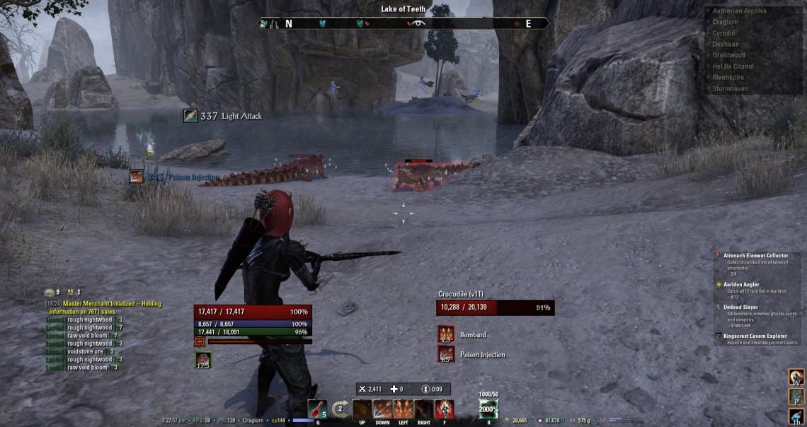 UI in combat
