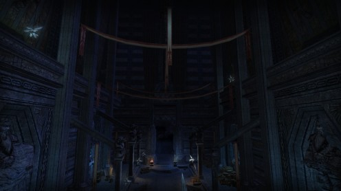 not sure of this location - possibly the entrance via Doors of Durin