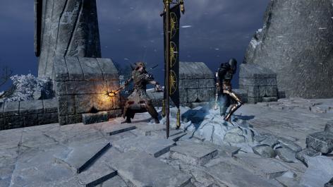 DAIMP - Rion (arin's elementalist) and Cillian (my arcane warrior)