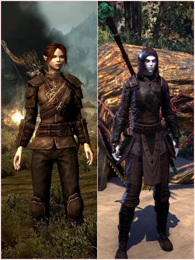 elder scrolls online outfit, thieves guild skyrim