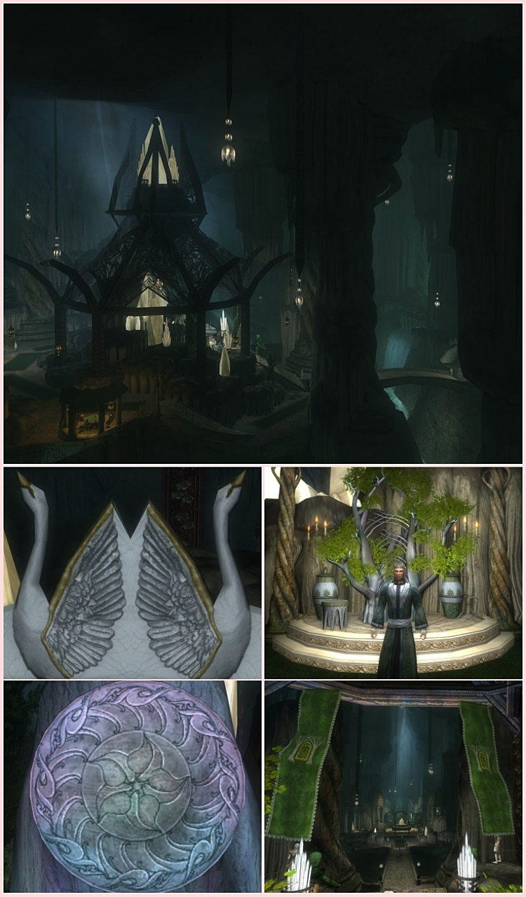 Felegoth, Halls of the Elven-king or Halls of Thranduil, Lord of the Rings Online