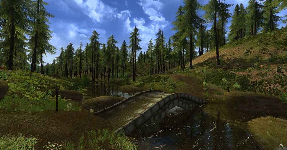 Bindbole Wood, The Shire, Lotro