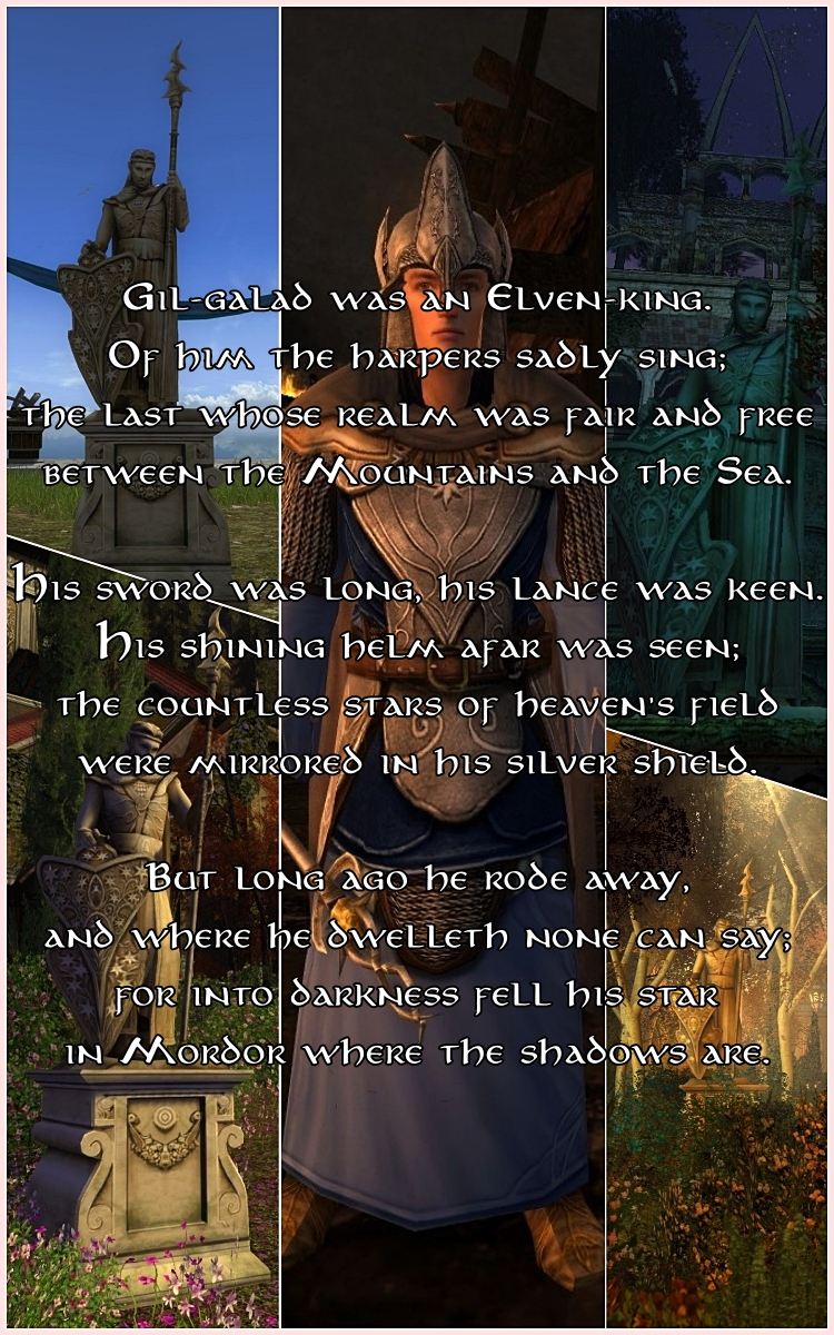 The Lord of the Rings, Gil-Galad, lotro