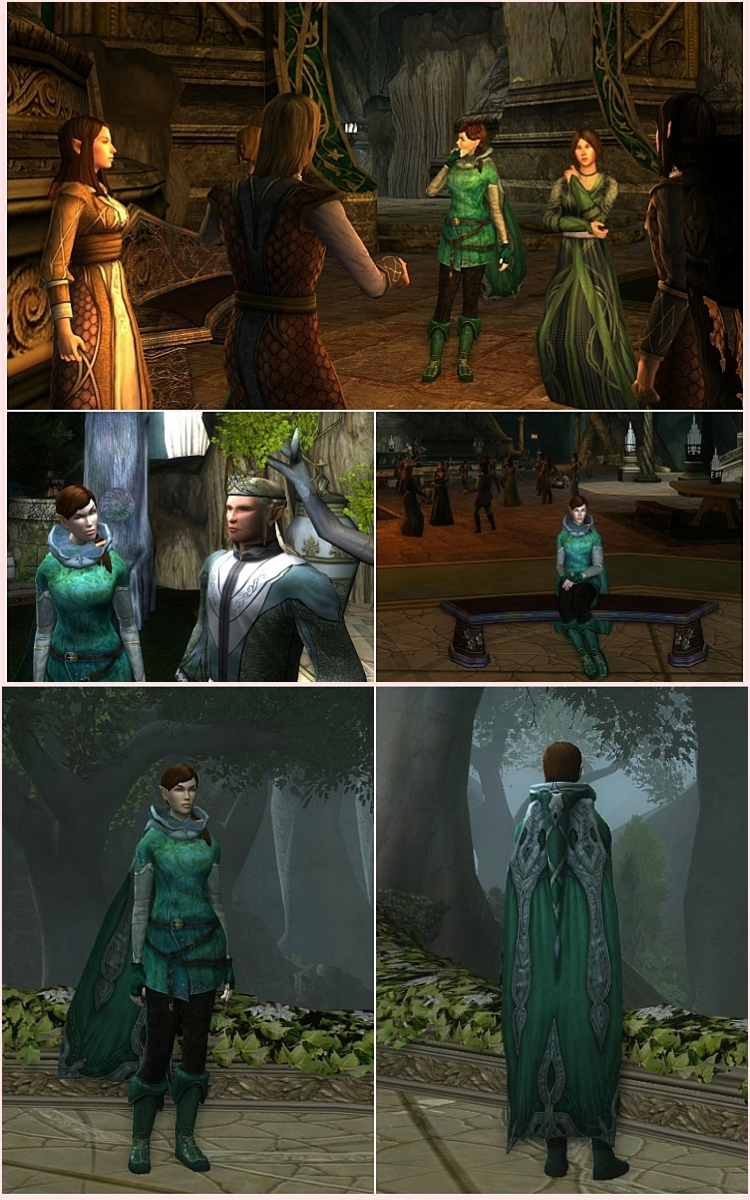 lord of the rings online lotro hunter outfit mirkwood