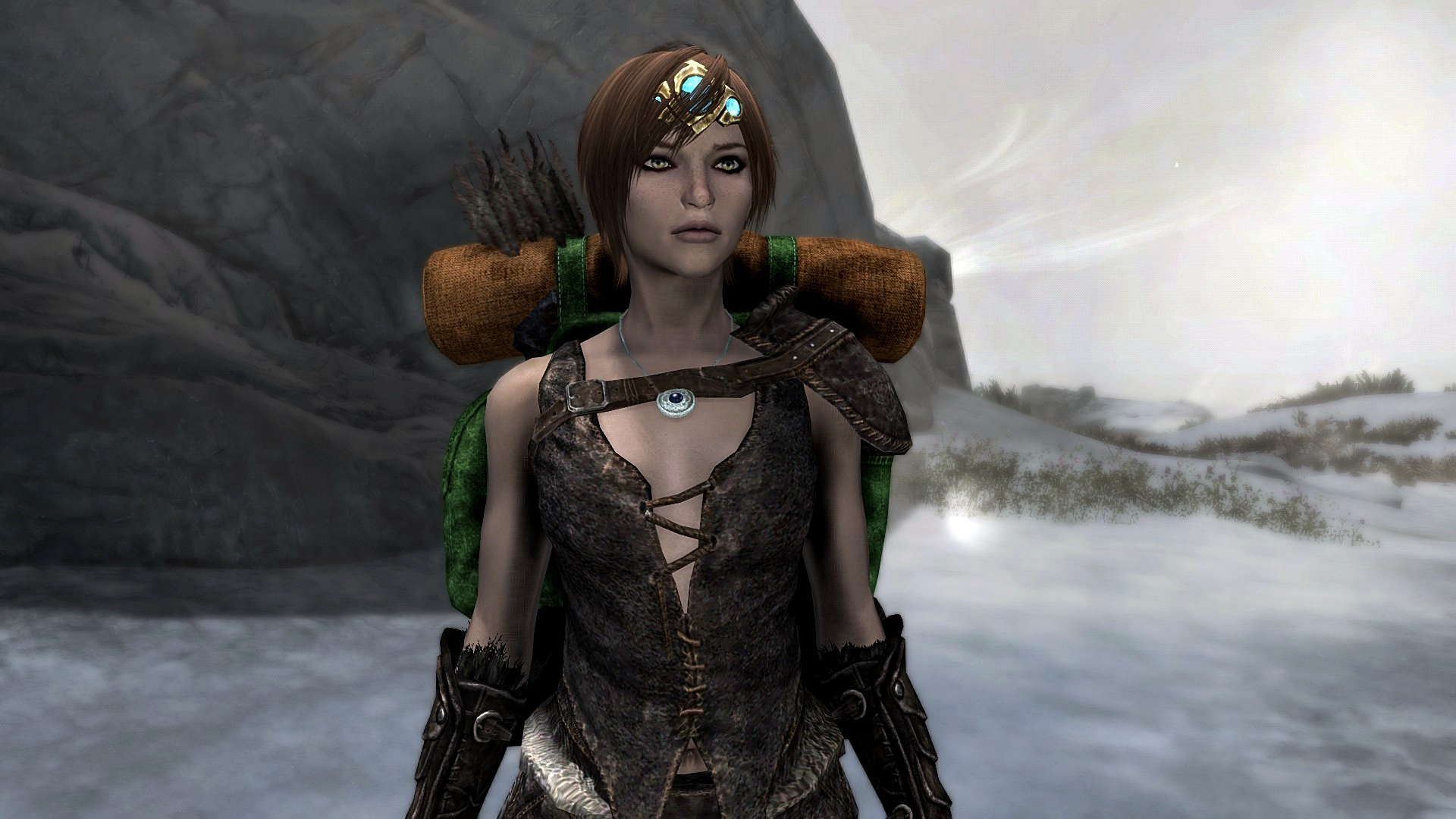 Skyrim Nord character
